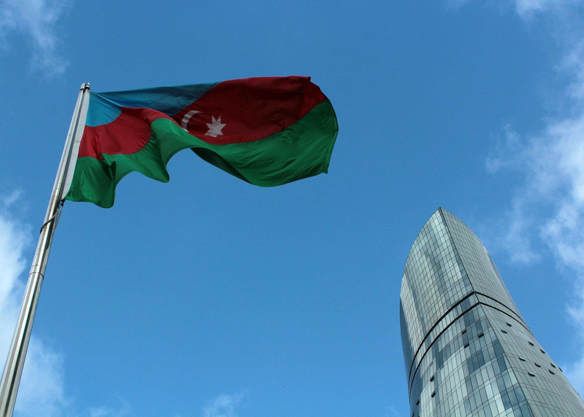 azerbaijan baku flag