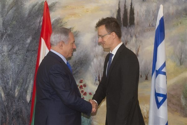 Szijjarto discusses migration with Netanyahu in Jerusalem