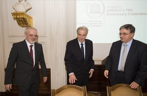 The Hungarian Academy of Science celebrates UNESCO 70th anniversary with conference