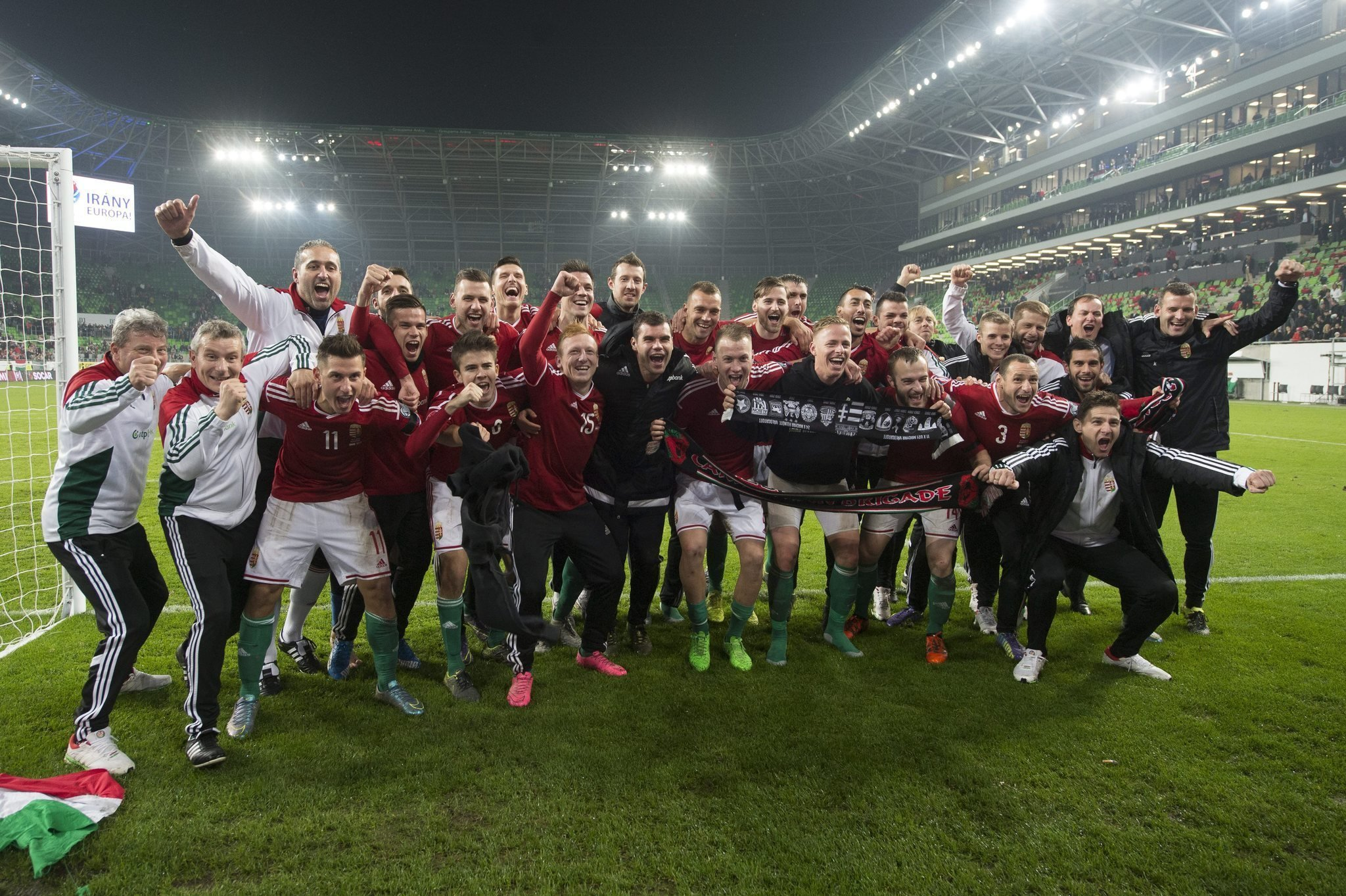Hungary ranked highest in FIFA world rankings since 1993
