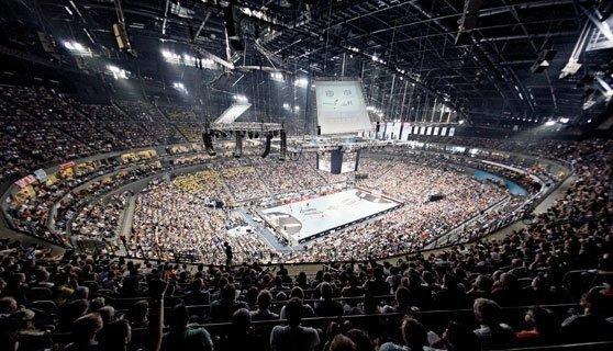 stadium, handball, sport