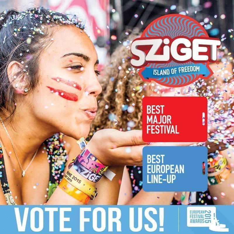 Vote for Sziget @ European Festival Awards