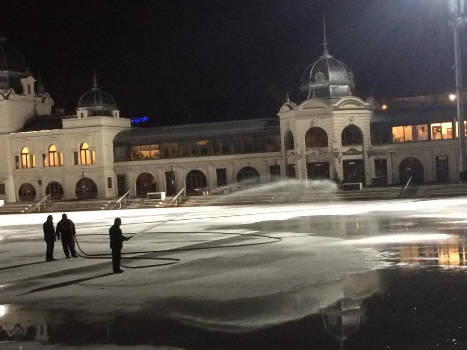 City Park Ice Rink opens today