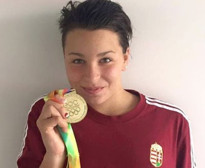 Fourteen-year-old Hungarian swimmer earned Olympic quota
