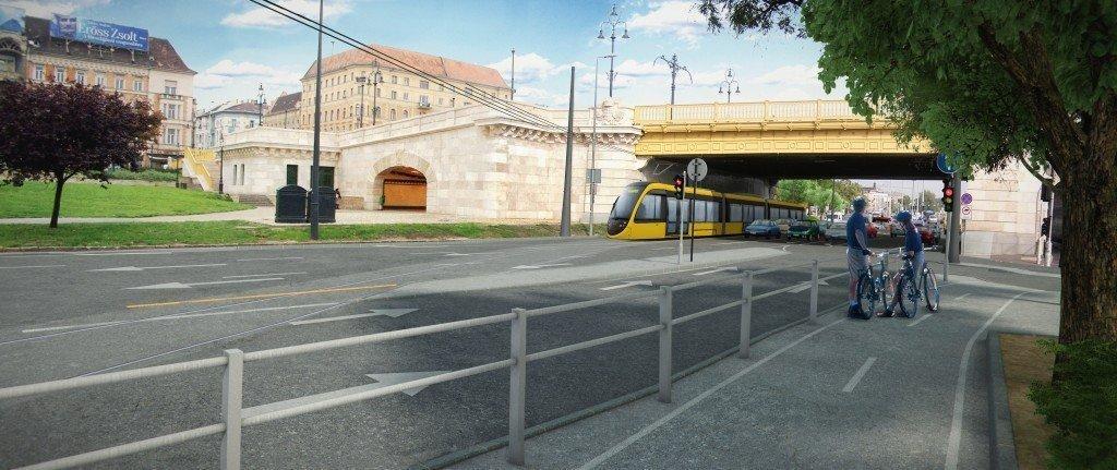 buda villamos tram4