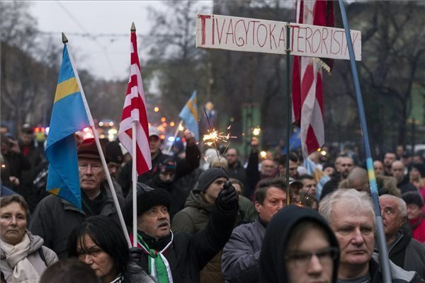 Hungarian nationalists hold rally in support of detained Szeklerland member
