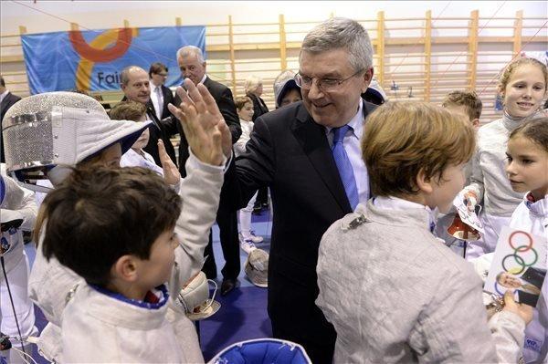 "Budapest ""strong bidder"" for 2024 Olympics, says IOC head"