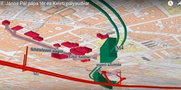 3d Map Of The Underground World Of Budapest Videos Daily News
