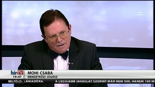 International Terrorism and the New World Order – lecture of Dr. Csaba Mohi