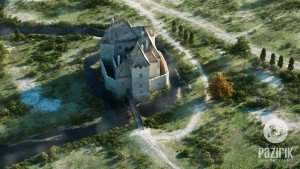 Castle of Simontornya