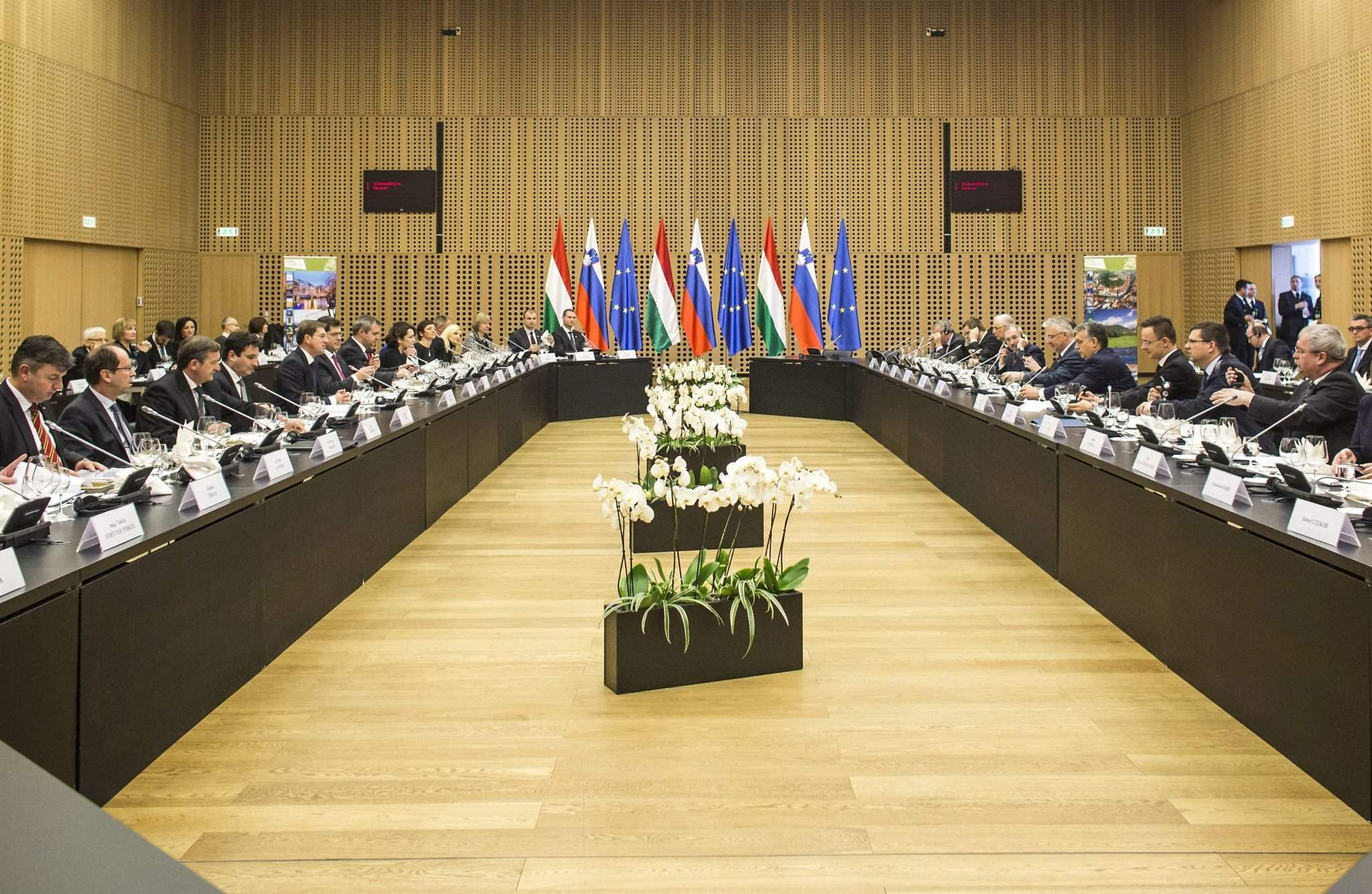 Slovenian-Hungarian governmental meeting hold in Slovenia ...