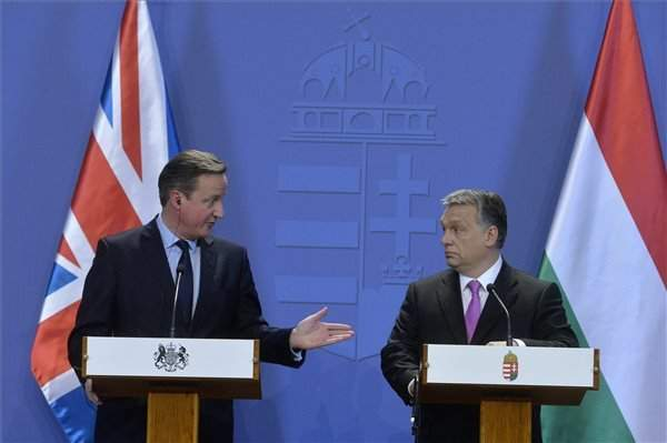 Viktor Orban meets David Cameron in Budapest – PHOTOS – UPDATE