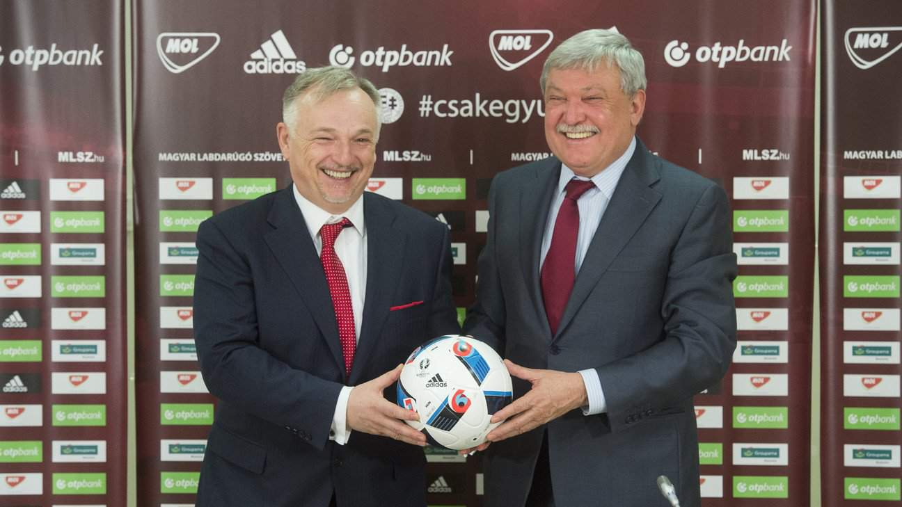 MOL Group becomes Hungarian Football Federation's newest sponsor