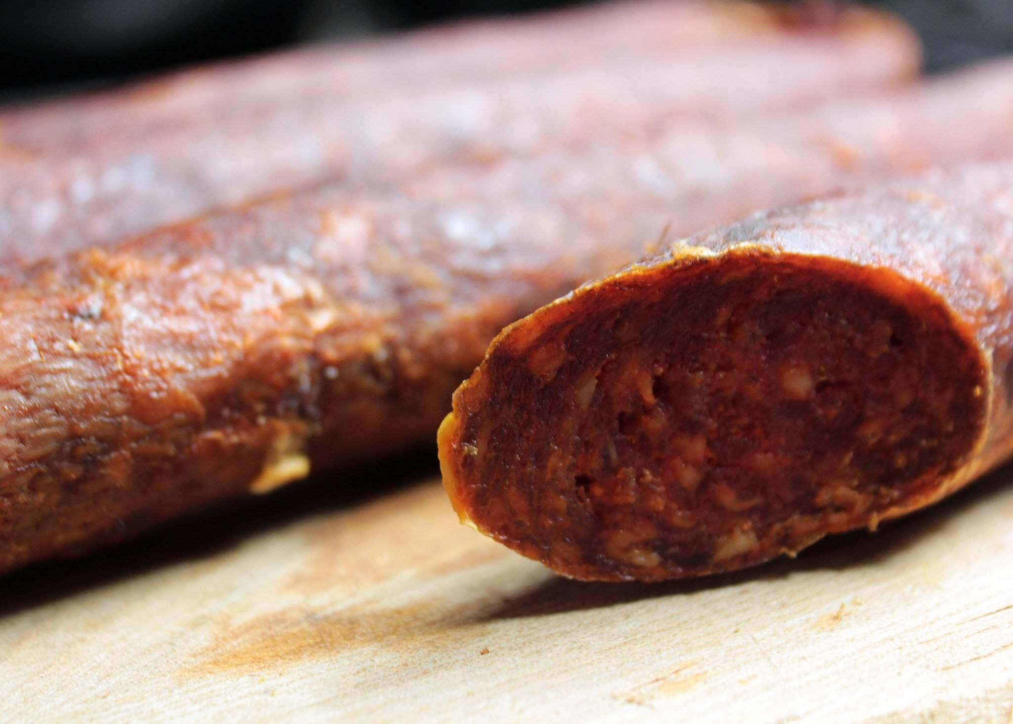 kolbász-hungarian sausage