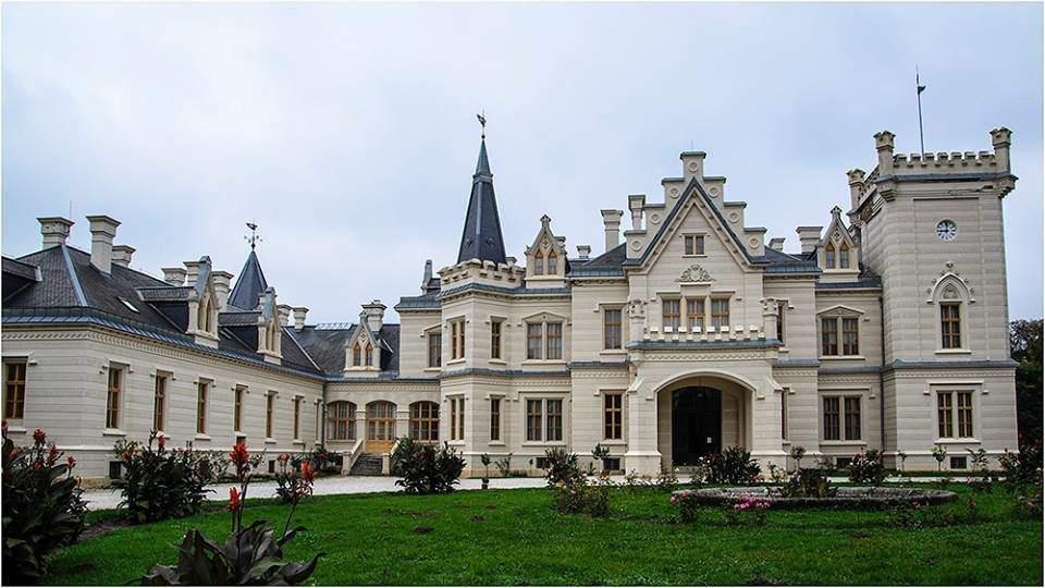 Nádasdy castle kastély Nádasladány