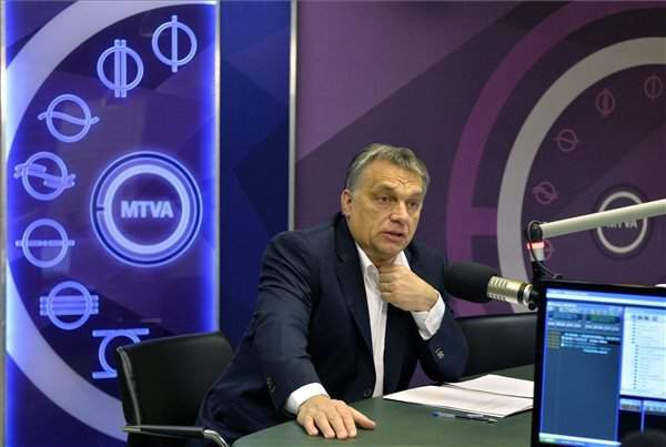 """Radio interview – Orbán: Austria's decision to restrict migrants """"victory for reason"""""""