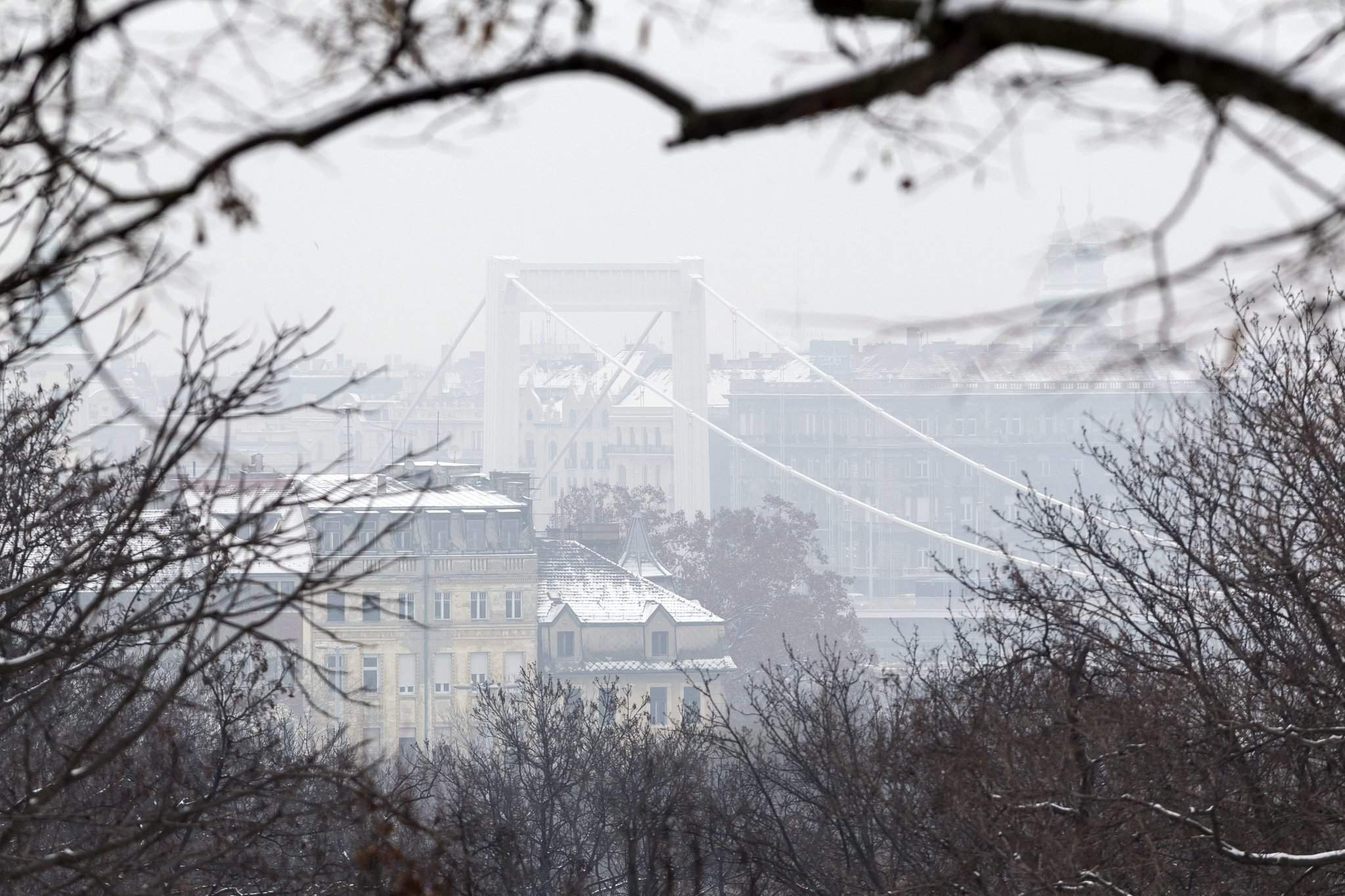 Smog alert in Budapest