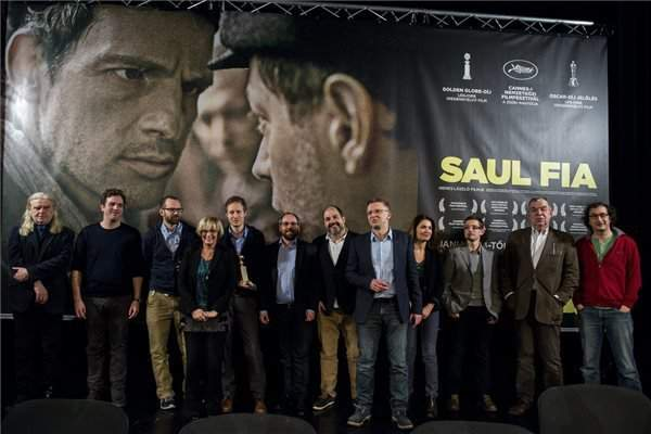 "Hungarian film ""Son of Saul"" wins Oscar"