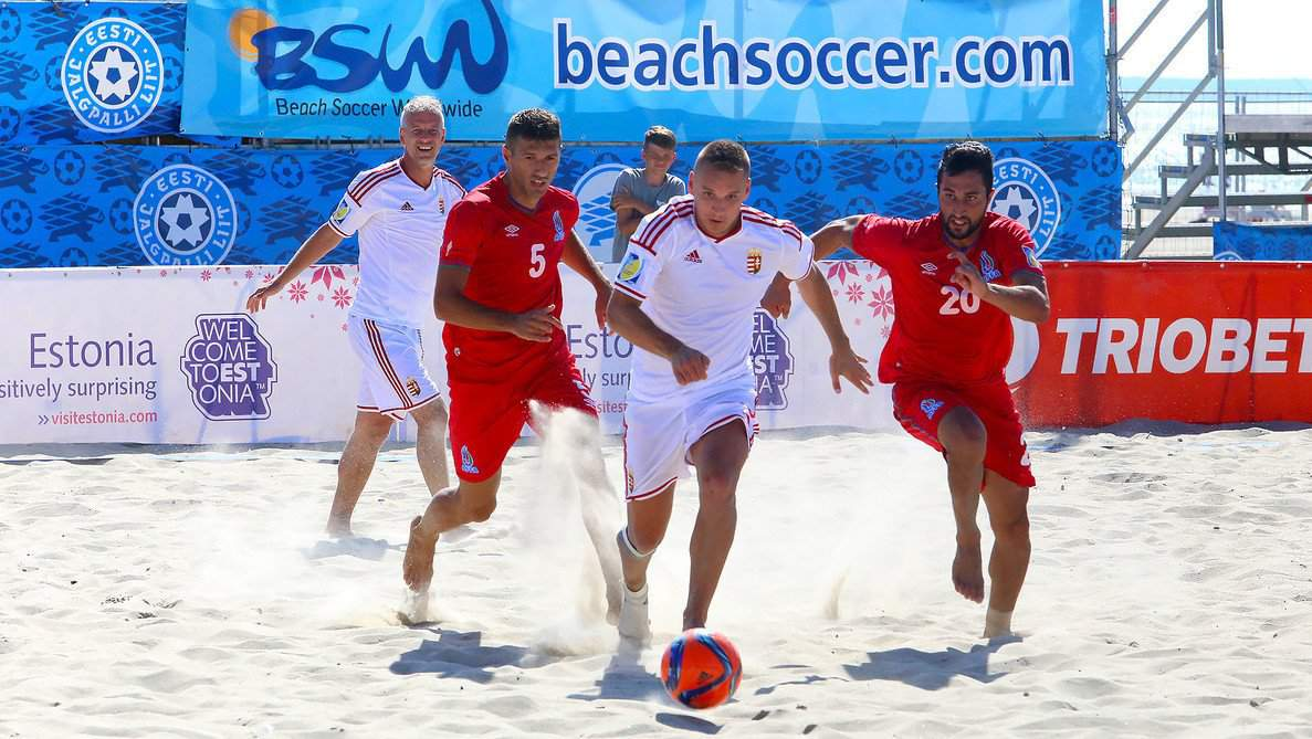 Hungarian beach soccer: recent successes can provide a basis for 2016