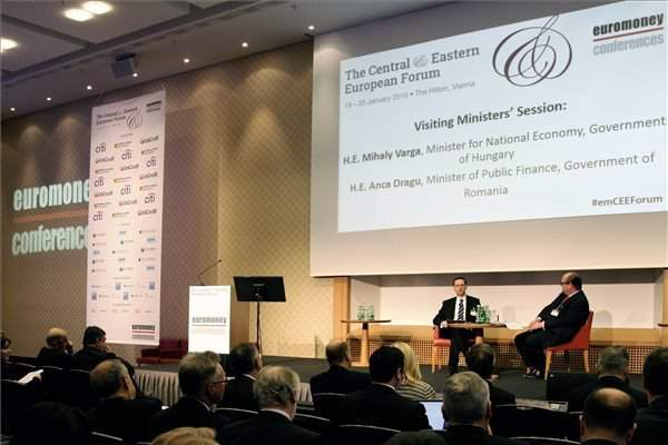 Demand for credit has grown, economy ministertells Euromoney conference
