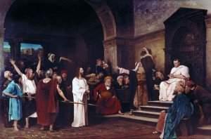 Munkácsy - Christ before Pilate