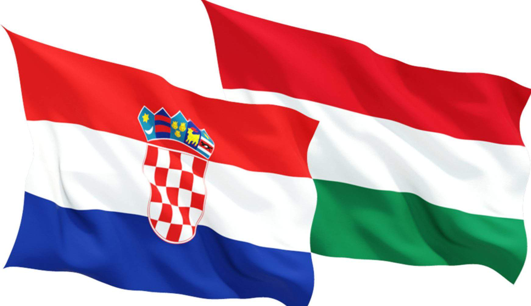 croatia hungary flag
