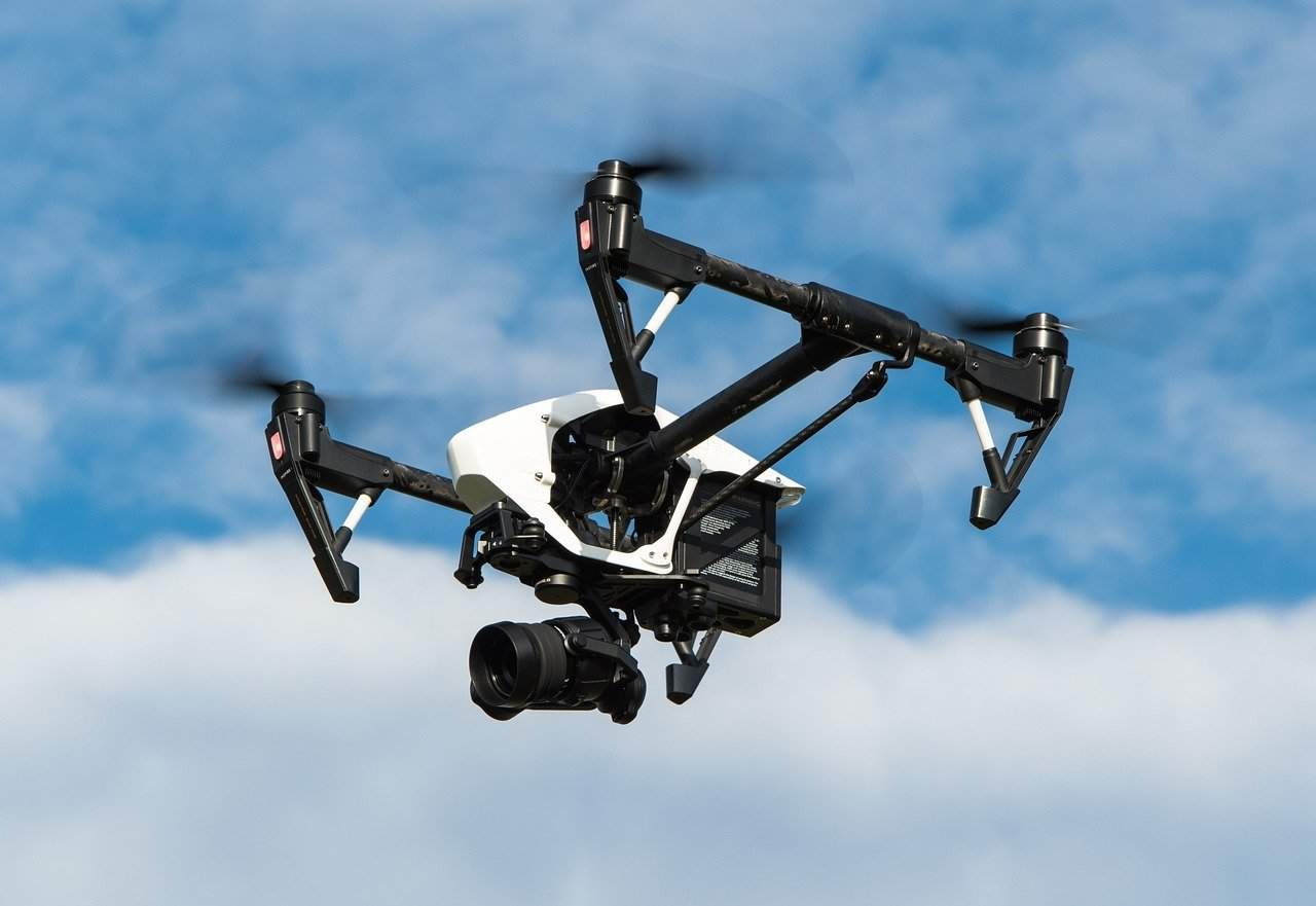 Drone collides with car in Budapest