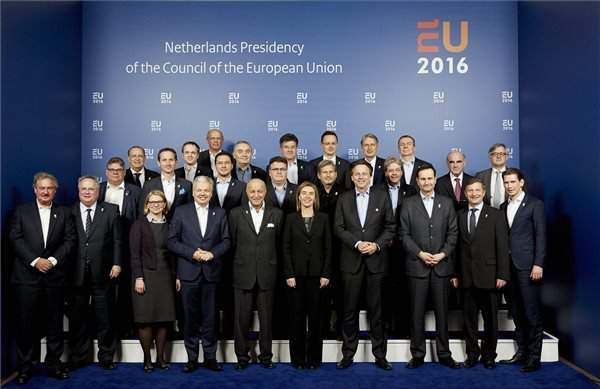 EU foreign ministers focus on new European defence strategy