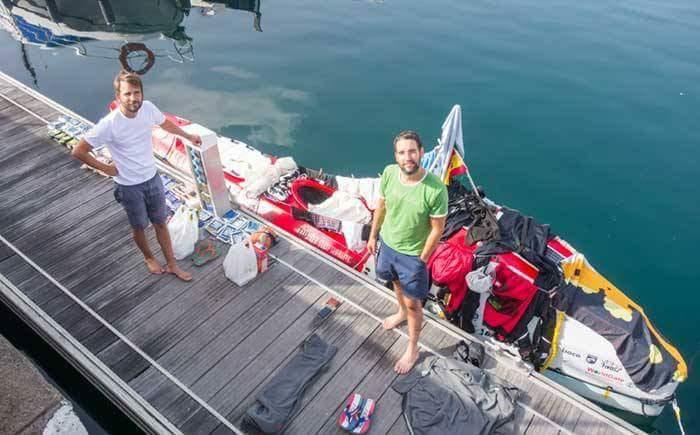 Sensational Hungarian success: two kayakers rowed across the Atlantic Ocean