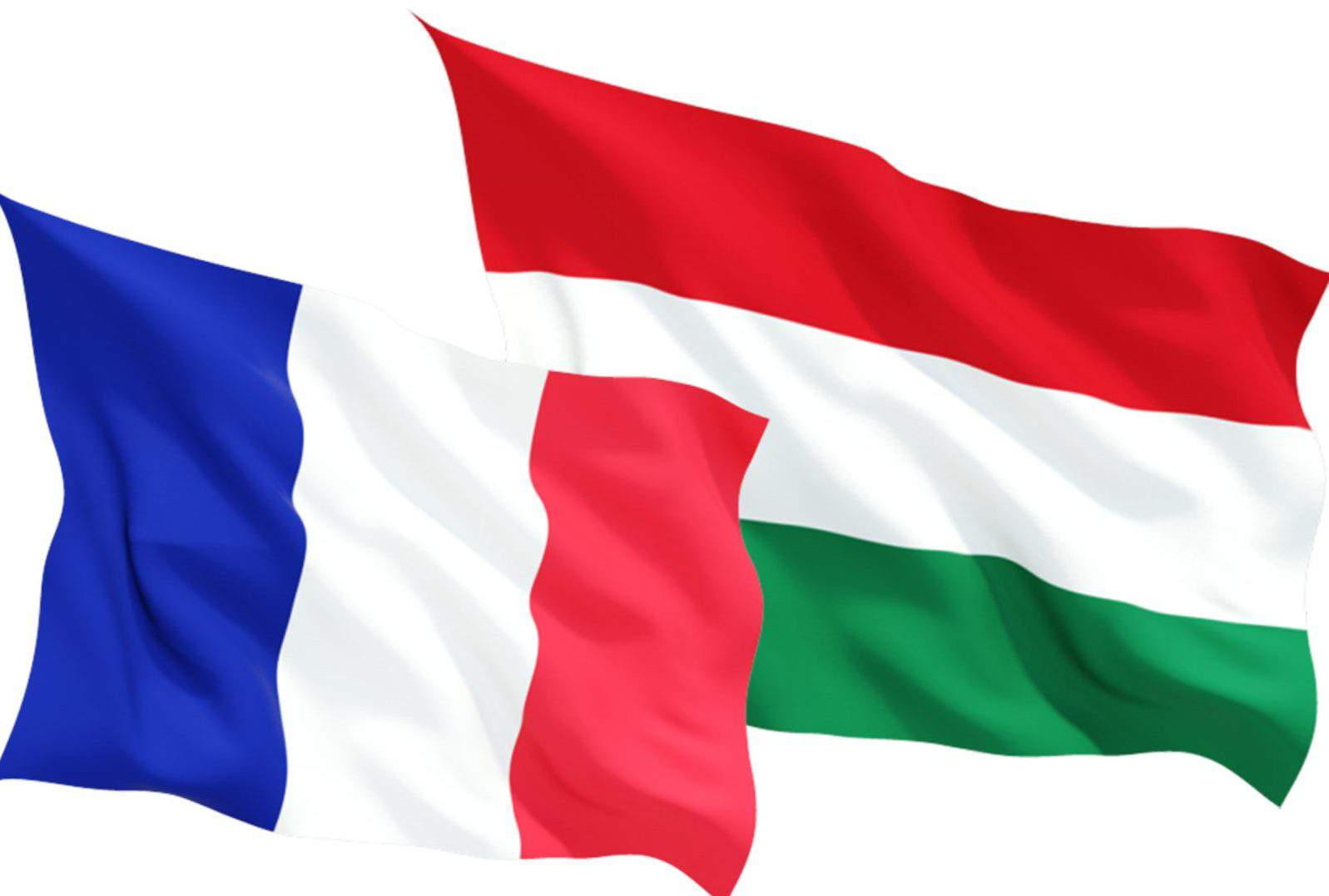 France Hungary flag cooperation
