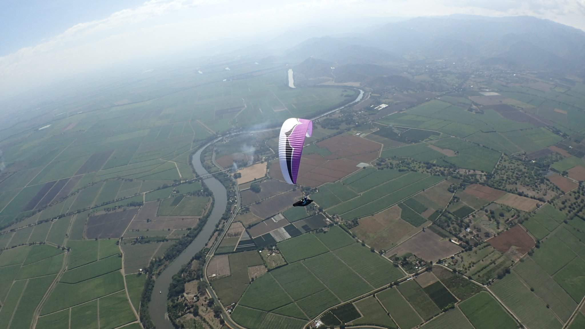 Hungarian paraglider won gold and bronze medals in Columbia