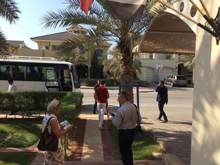 Young Hungarian entrepreneurs visit HTCC Dubai