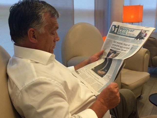 orbán media