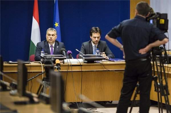 EU summit in Brussels – Orbán: Britain's EU reform deal meets V4 goals