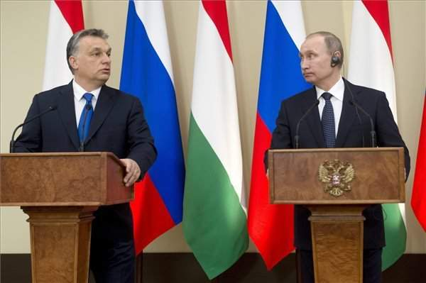 Orbán meets Putin in Moscow