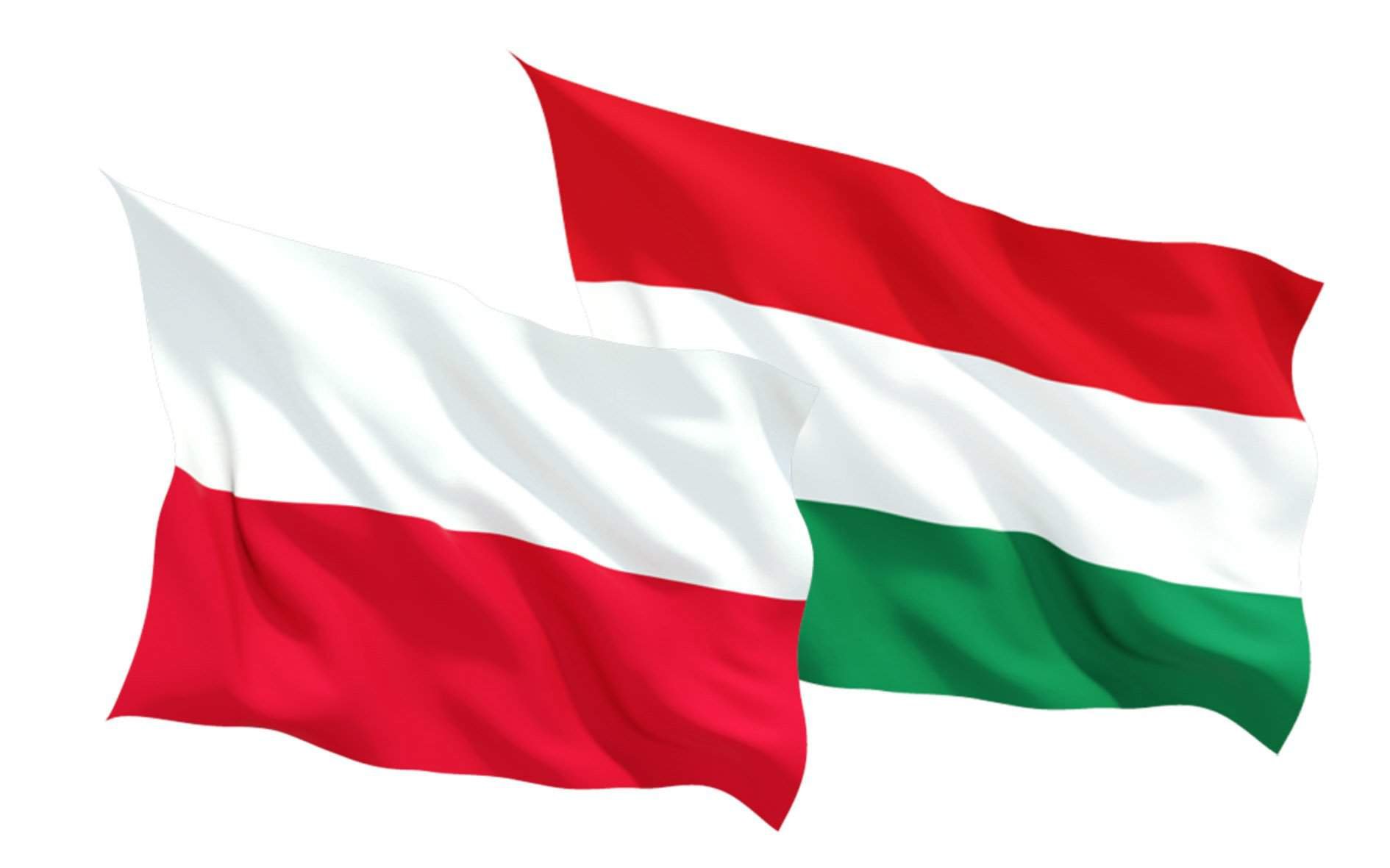 poland hungary flag