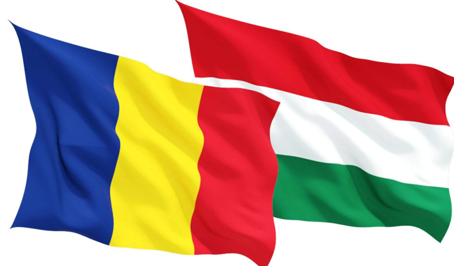 Romania Hungary flag