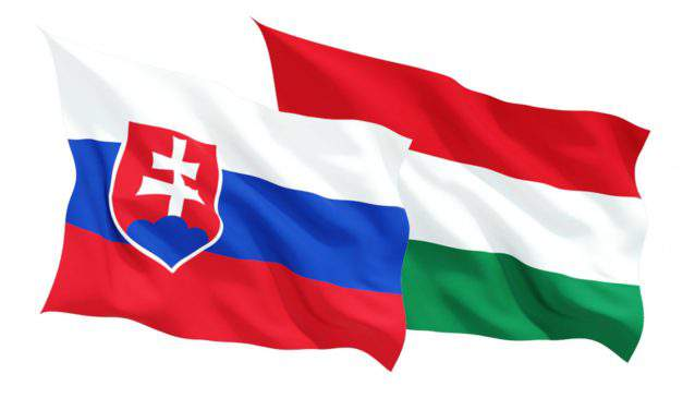 Slovakian-Hungarian border modified