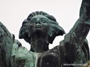 szabadság szobor arc