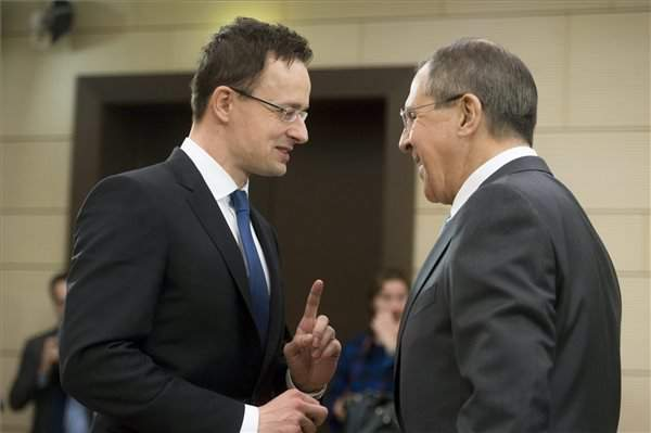 Russia foreign minister to visit Hungary in spring, says Szijjartoin Moscow