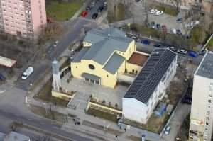 templom- budapest, boldog meszlényi zoltán