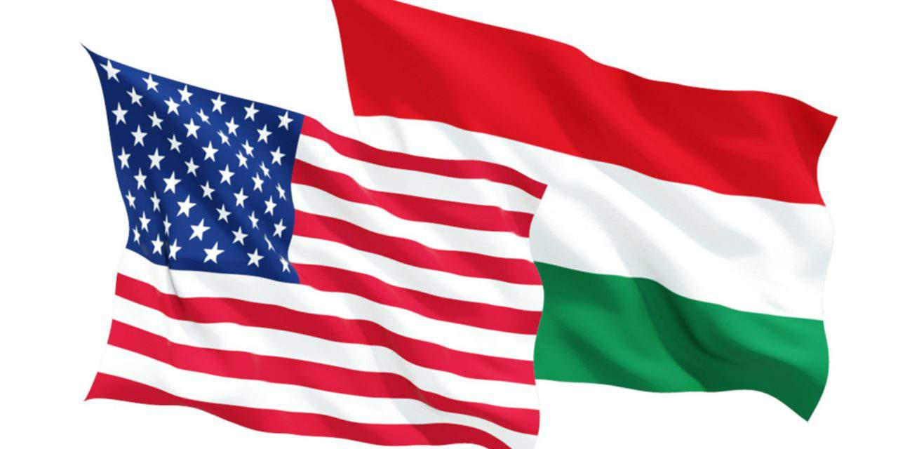 Cross-party delegation of representatives from the United States Congress in Hungary