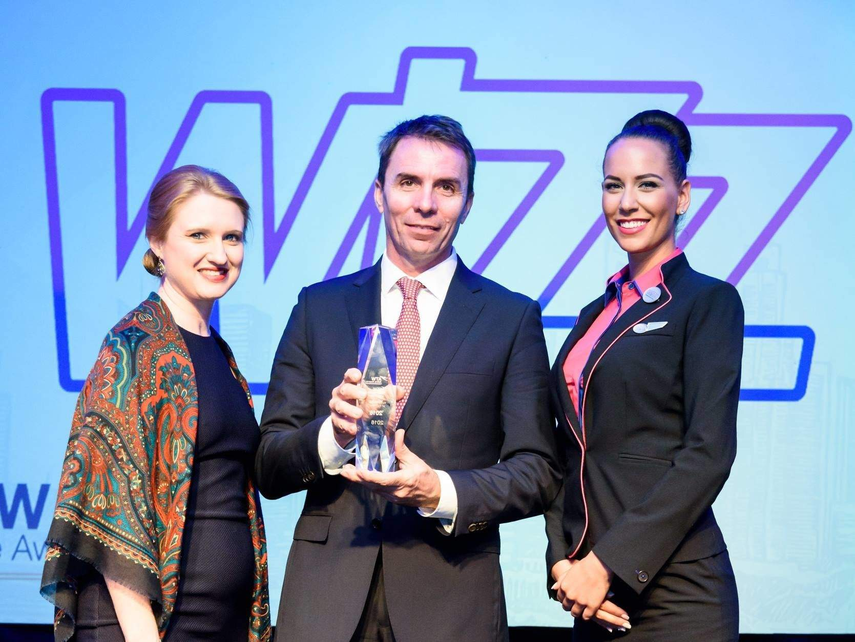 Wizz Air won Value Airline of the Year award