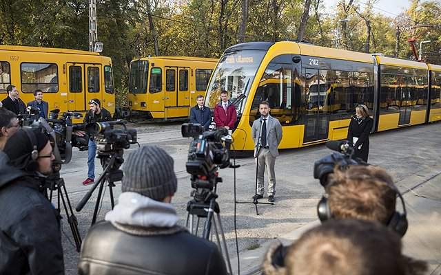 The world's longest tram can be launched in Budapest in March