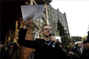 A one-hour protest around the country by teachers-7, István Pukli
