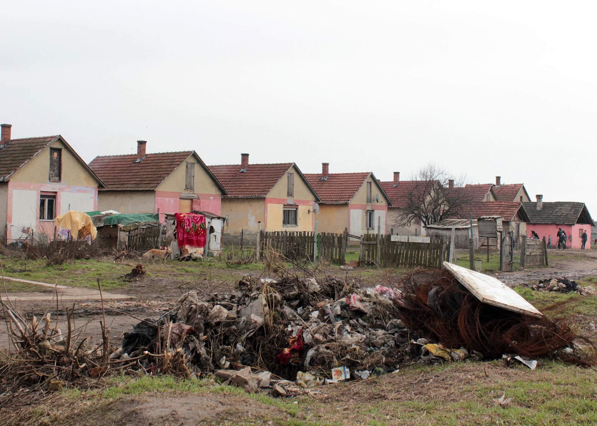 tiszavasvári roma district
