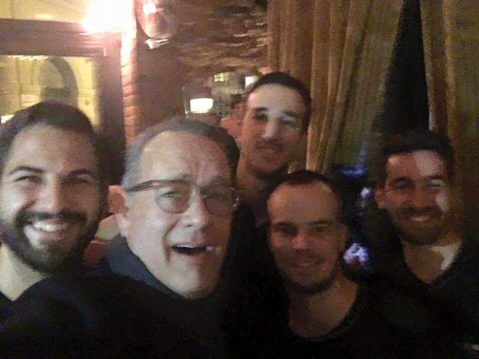 Tom Hanks Has Another Budapest Selfie