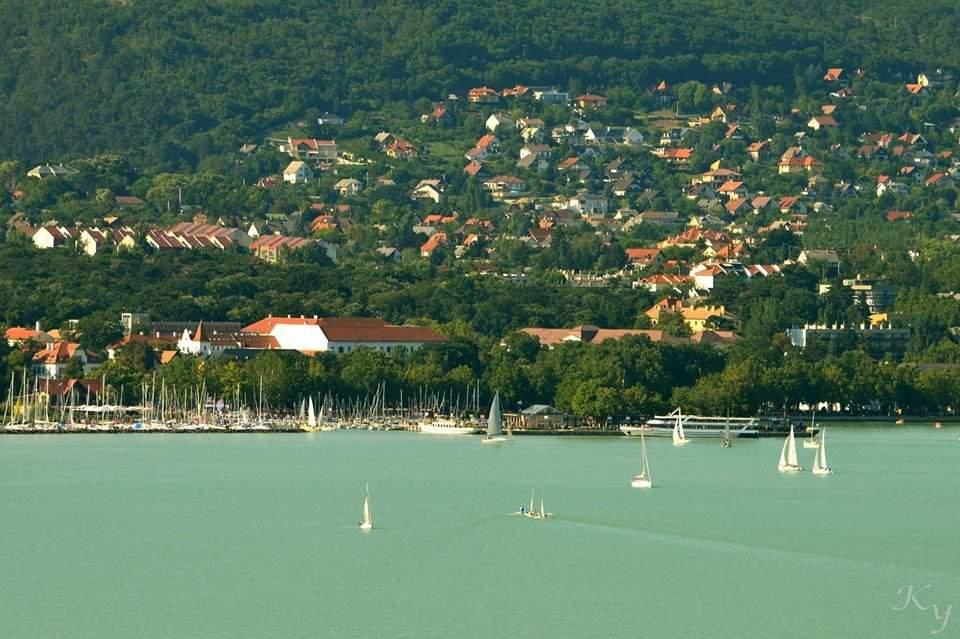 Balaton Balatonfüred view