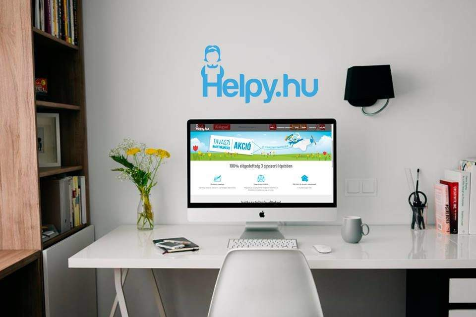 A Hungarian startup launched Helpy, the Uber of cleaning