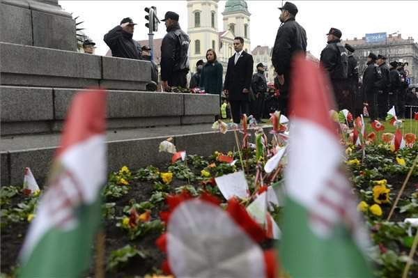 March 15 – Opposition parties celebrated the anniversary of Hungary's 1848 revolution